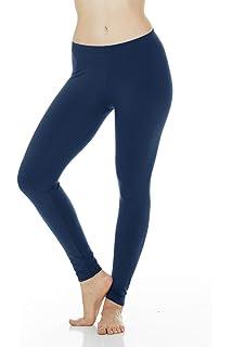 0d02f1ef4d61ec Thermajane Women's Ultra Soft Thermal Underwear Pants Bottoms Fleece Lined  Leggings