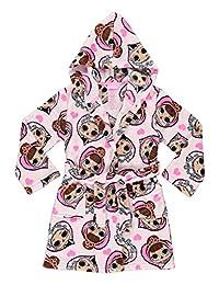 L.O.L. SURPRISE! Girls Sleep Robe | Soft & Comfy Fleece Hooded Bathrobe - 6X