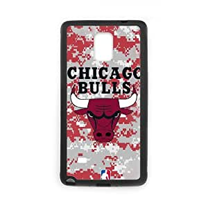 Custom Phone Case Chicago Bulls For Samsung Galaxy Note 4 U56140