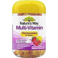 Nature's Way Multi-Vitamin Vita Gummies for Adults, Lemon, Raspberry and Strawberry, 0.34 Kilograms