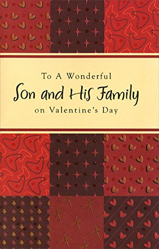 (Earthtone Patchwork: Son - Freedom Greetings Valentine's Day Card)