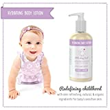 Baby : Soothing Lavender & Chamomile Baby Lotion - Natural & Organic Ingredients - Gluten Free - Sensitive Skin - Moisturizing & Non-greasy with Aloe, Oatmeal, & Shea Butter - Calming Bath, Bedtime & Massage