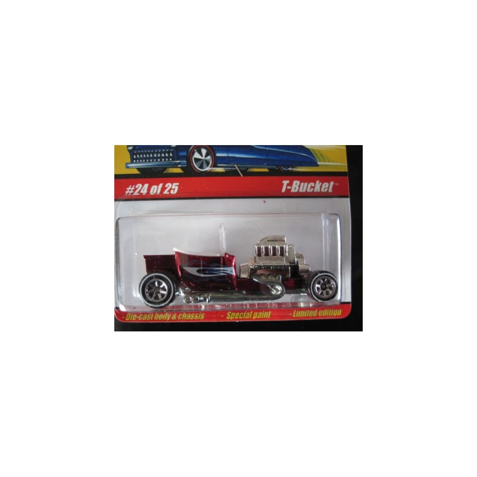T bucket (Spectraflame Red) 2005 Hot Wheels Classics Series 1 #24
