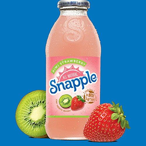 Snapple Kiwi Strawberry, 16-oz Plastic Bottles (24 Pack) - Buy