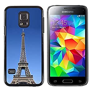 "For Samsung Galaxy S5 Mini ( NOT for regular S5 ) , S-type Arquitectura La torre Eiffel tour"" - Arte & diseño plástico duro Fundas Cover Cubre Hard Case Cover"