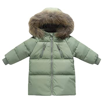2c5d9e5bf06 Amazon.com  Jiamy Baby Down Jacket Winter Hooded Coat Long Puffer ...