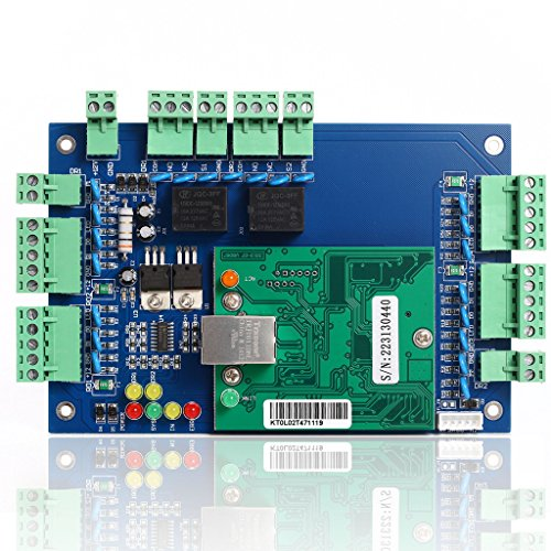 UHPPOTE Professional Wiegand 26 Bit TCP IP Network Access Control Board with Software For 2 Door 4 Reader