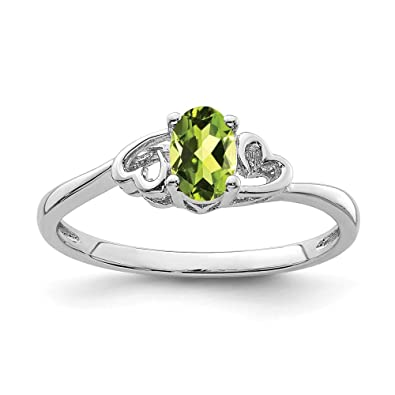 Natural Gemstone Round Faceted Peridot Ring Great Jewelry Most Item Gift for Valentines Day top Ring 925 Sterling Silver Green Peridot Natural Gemstone Ring