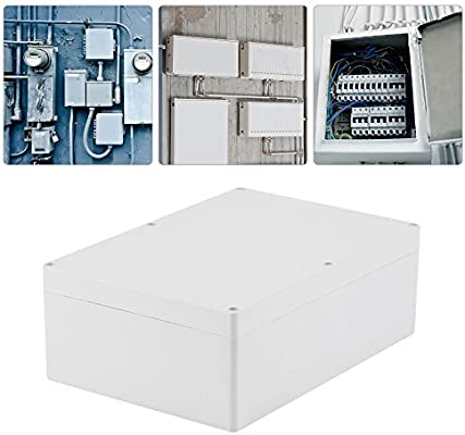 Akozon Caja de empalmes exterior, caja de conexiones impermeable IP67 263 * 185 * 95 mm.: Amazon.es: Industria, empresas y ciencia