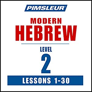 Pimsleur Hebrew Level 2 Speech