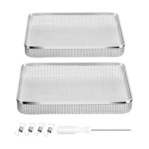 - BougeRV Stainless Steel Mesh RV Furnaces Protects from Insects for RVs/Campers/Trailers (2 Pack)
