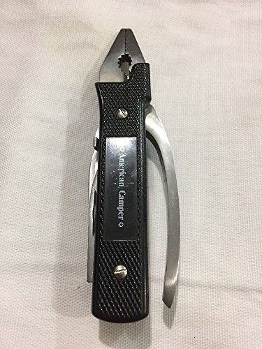 American Camper Tool Pocket Knife Outdoor Sporting Camping and Hiking Goods Multi Tools (Campers Tool)