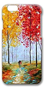 iPhone 6 Case, Custom Design Protective Covers for iPhone 6(4.7 inch) PC 3D Case - Painting The Autumn