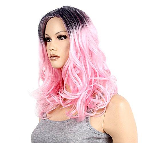 Mujer Mujeres pelo largo rizado peluca pelucas Wig Color Marrón Oscuro para Carnaval o Disfraz Cosplay Party, pelo notebook Golden Rule Lady/página de ...