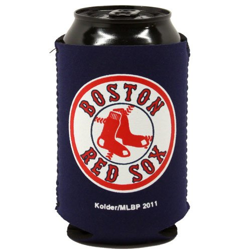 MLB Boston Red Sox Navy Blue Collapsible Can Koozie