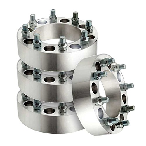 Prime Choice Auto Parts WSPKG0066 Front and Rear Set of Wheel Spacers by Prime Choice Auto Parts (Image #1)