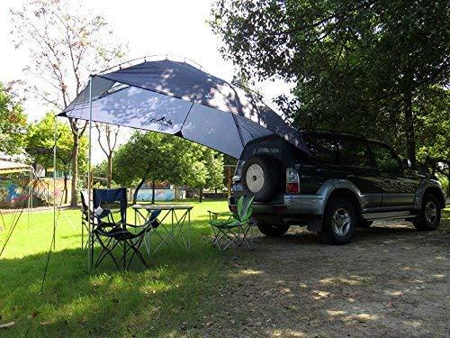 4YANG Carpa de Autos para veh/ículos Familiares y veh/ículos peque/ños SUV//MPV Acampar al Aire Libre Camping Familiar Cuenta de Cola de Coche Cuenta de Lado de Lado Car Tiendas