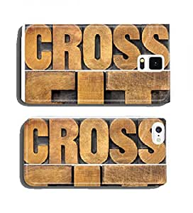 crossfit word abstract cell phone cover case Samsung S3 mini