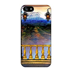 Top Quality Cases Covers For Iphone 5/5s Cases With Nice A View From Balcony Appearance
