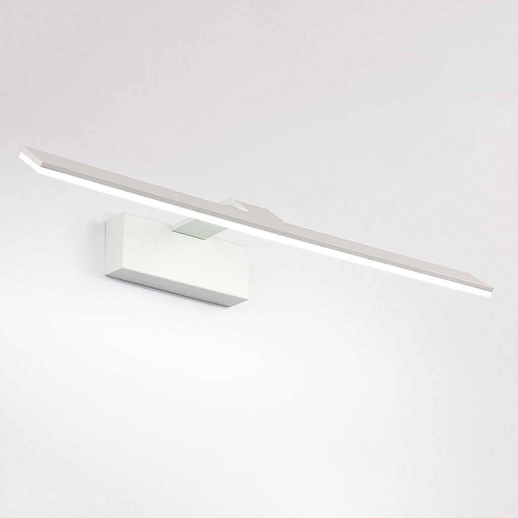 DRM Beleuchtung Spiegel Vorne Lichter Lampe, 14W Led Spiegel Licht Schatten Badezimmer Makeup Kommode Front Beleuchtung, Metall-Acryl (42Cm Weißes Licht)