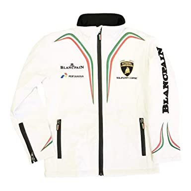 Lamborghini Kids Zip-up Hoodie White Other Unisex Clothing