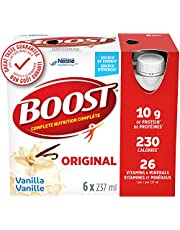 BOOST Original Meal Replacement Drink, Vanilla, 24 x 237 ml - PACKAGING MAY VARY