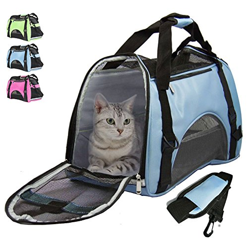 Airline Approved Pet Carrier Under Seat Soft Sided for Dogs Cats