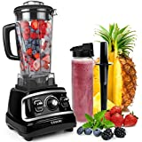 COSORI 1500W Blender for Shakes and Smoothies, Professional Kitchen Smoothie Blender Maker with 64oz BPA-Free Pitcher and 27oz Bottle,Commercial Heavy Duty Food Processor for Ice,Soup,Nuts and Batter