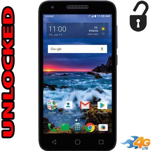 Alcatel Verso Unlocked 4G LTE 5044C 5 inch 16GB Usa Latin & Caribbean Bands Android Oreo 8.1 (Virgin Mobile Touch Screen 5 Inch)