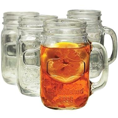 Yorkshire Mason Jar Mug, Set of 8
