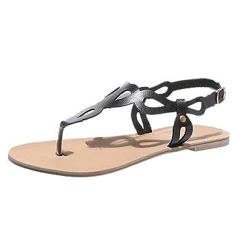 c38831ed776c Amazon.com  Inkach Women Thong Sandals