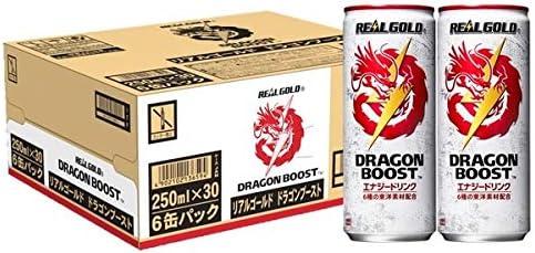 コカコーラ リアルゴールド ドラゴンブースト 250ml缶×30本入