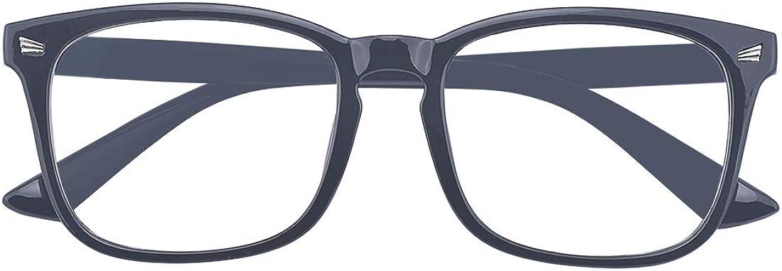 Outray Montez les lunettes unisexes qui bloquent la lumi/ère bleue encadrent des lunettes de jeux informatiques Blue Ray