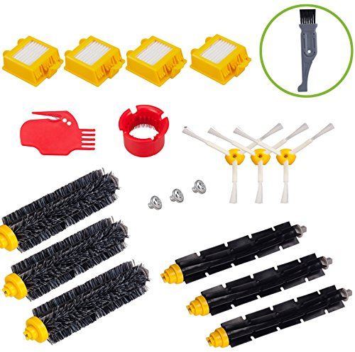 I clean For iRobot Roomba 760 770 780 790 Vacuum Cleaning Robots Parts, 15 pcs Replacement Roomba Vacuum cleaning Accessories Kits