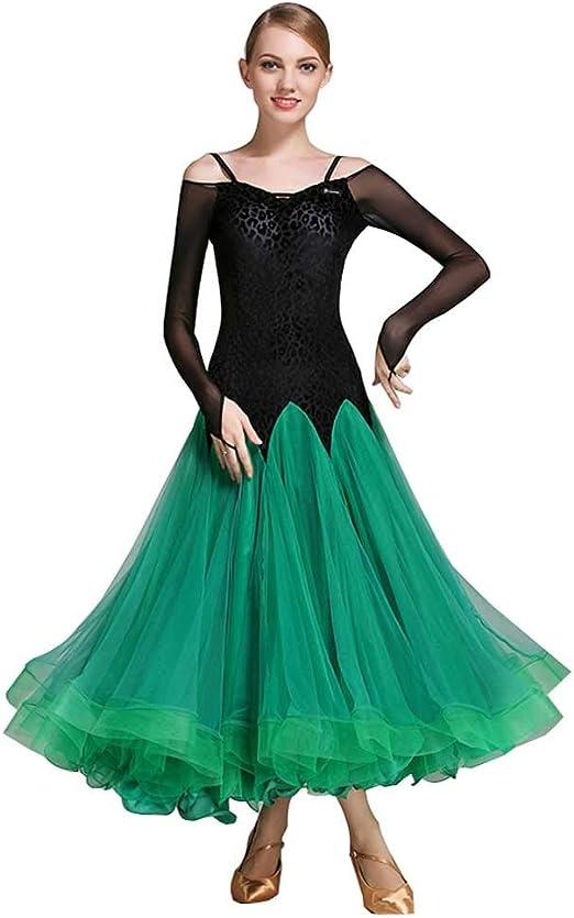 JR RJ Vestidos Dirndl Falda de Baile Moderno Falda de Baile de ...