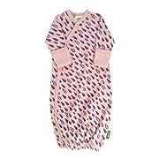 Parade Organics Kimono Gowns - Signature Prints Purple Rain 0-3 Months