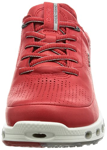 Rouge 2 Femme Sneakers Noir 0 Ecco Cool 1046tomato Basses 0vcffy