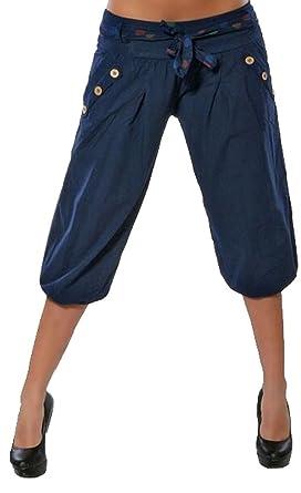 e0784d85d4c13 ORANDESIGNE Femme Short été Court Short Bouffant Pantalon Boyfriend Bermuda  Shorts - - XXX-Large