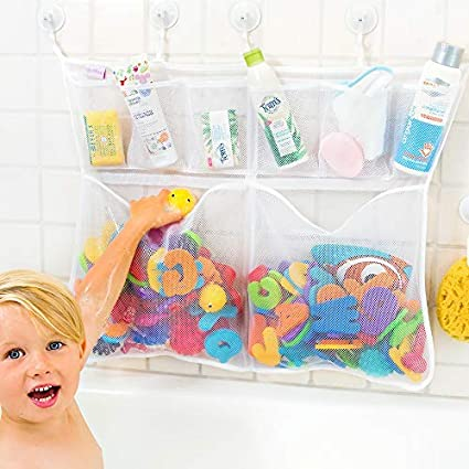 Fun Bath Time Toy Hammock Baby Toddler Child Toys Tidy Storage Net Organiser LA