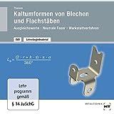 Lehrerbegleitmaterial Kaltumformen von Blechen und Flachstäben, DVD-ROM Ausgleichswerte - Neutrale Faser - Werkstattverfahren