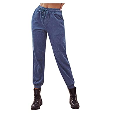 PAOLIAN_Pantalones Para Mujer Pantalones Chandal para Mujer Anchos ...