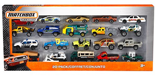 Matchbox On A Mission: 20-Pack Car Set