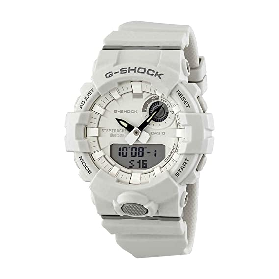G White Shock Step Gba800 Super Casio Illuminator Bluetooth Watch 7a Tracker fYb6g7yv