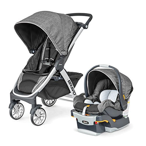 Chicco Carriola Bravo Travel System, color gris