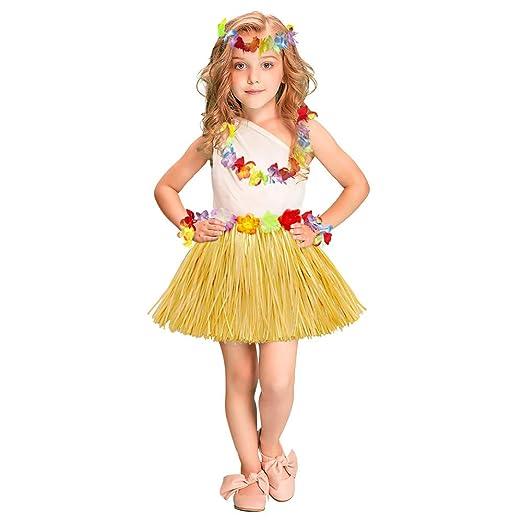 Peggy Gu Traje de Cosplay Princesa Corona Hawaiana Conjunto ...