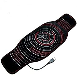 Qfiber Usb Powered Heat wrap black/red 1 pounds 1 piece