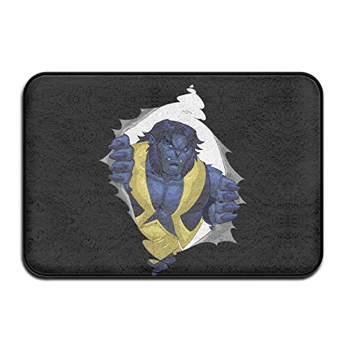 Beast Cartoon Character Doormat And Dog Mat ,40cm60cm Non-slip Doormats,Suitable For Indoor Outdoor Bathroom Kitchen Doormat And (Badass Characters)