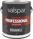 Valspar Paint Interior High Hide Latex Paint White Eggshell, Gallon