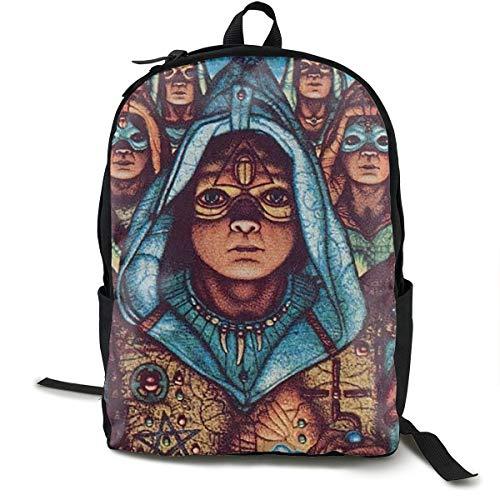 Stephan D Hampton Blue Oyster Cult Unisex Backpack Hiking Backpack Travel Sports Bag