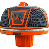 WOW Sound 17-9000, Bluetooth Floating Speaker, Waterproof, 50 Hour Battery, 360 Degree Sound, LED Light, Fits In A Cup Holder